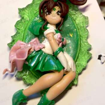 Cameo Sailor Jupiter Pendant