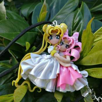Serenity chibiusa Necklace handmade polymer clay ON DEMAND