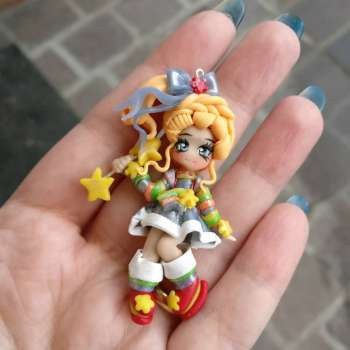 Rainbow Brite Necklace On DEMAND
