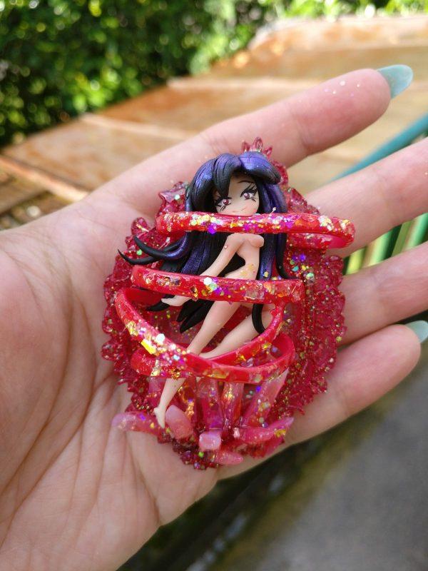 Mars Crystal Power Make up! Sailor Mars Cameo