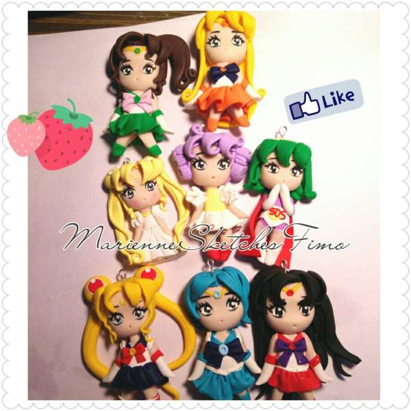 MiniFigure handmade anime manga Fimo Cernit ON DEMAND